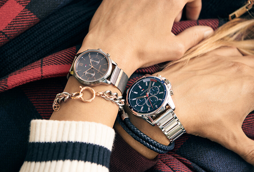 The Tommy Hilfiger brand reflects American style in a unique blend of casual comfort and elegance. The watches of this brand follow a classic line, where exclusive details are added.