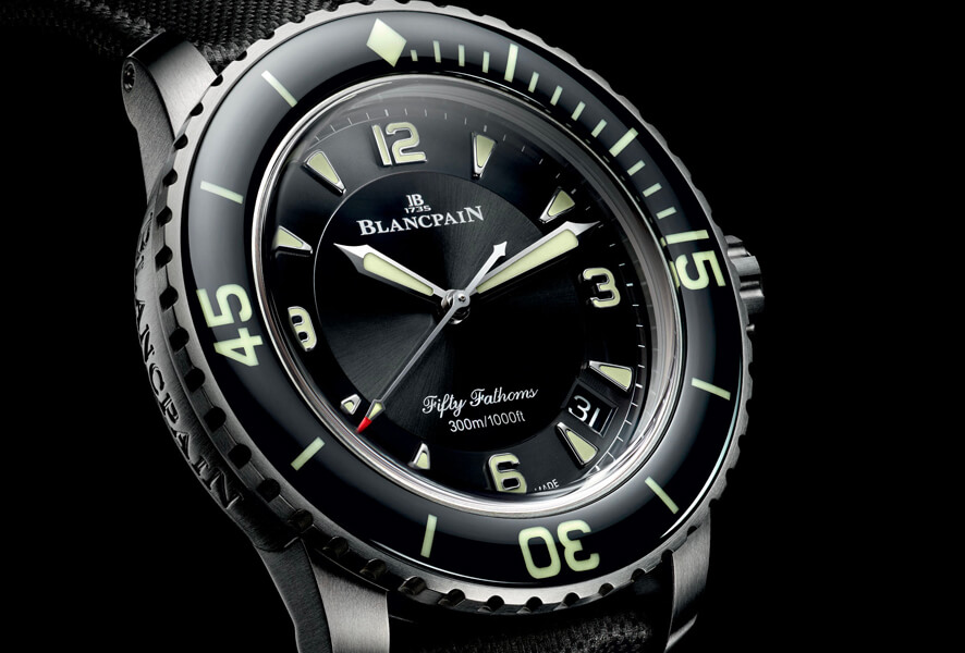 Jehan-Jacques Blancpain founded the brand in 1735. Despite continuing to develop and innovate mechanical watchmaking, the brand still retains the traditional skills of its founder until today.