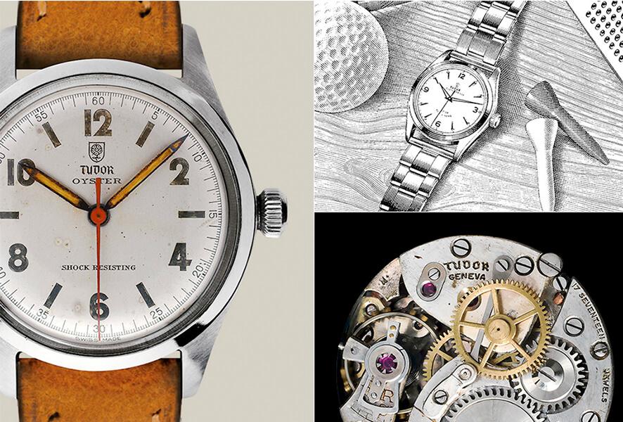 """Em fevereiro de 1926, Hans Wilsdorf registou a marca """"The Tudor"""" e passou a criar relógios com a assinatura da marca no mostrador. Logo após a Segunda Guerra Mundial, Hans Wilsdorf soube que chegara o momento de expandir a marca e de lhe dar uma identidade própria. A 6 de março de 1946, criou """"Montres TUDOR S.A."""", especializada em modelos para homem e senhora. A Rolex garantiria as características técnicas, estéticas e funcionais, bem como a distribuição e o serviço pós-venda."""