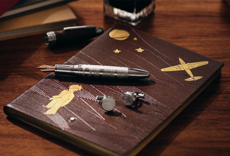 Guided by a pioneering spirit since 1906, Montblanc revolutionized the culture of writing with revolutionary innovations. Today, Maison continues to overcome barriers and developing an expression of good craftsmanship in all product categories: the peak of luxury writing instruments, watches, leather goods, accessories, fragrances and glasses.